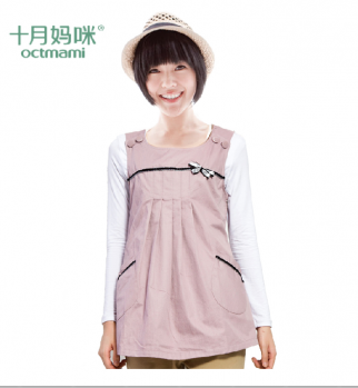 Anti-radiation pregnancy smocks are a common sight in China.