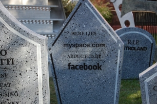 Here lies MySpace, abducted by Facebook