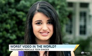 Rebecca Black on 'Good Morning America': T.G.I... Oh, never mind.