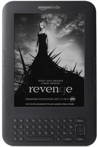 ABC used Amazon's Kindle with Special Offers to let consumers download the script of the pilot for 'Revenge.'