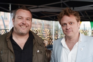 We Are Social founders Robin Grant and Nathan McDonald