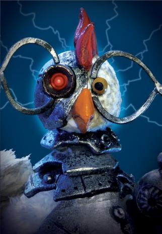 Adult Swim told ad buyers its 'Robot Chicken' will get a special spoofing AMC's mega-hit 'The Walking Dead.'