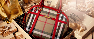 Burberry sales are growing in China, despite the luxury cooldown.