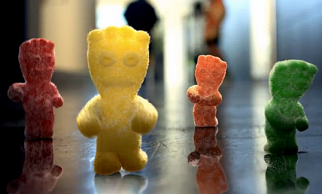 A scene from 'World Gone Sour,' a Method Man video promoting Sour Patch Kids