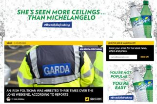 Coca-Cola Pulls Offensive Sprite Ad in Ireland