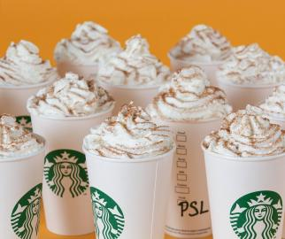 Starbucks Pumpkin Spice Lattes