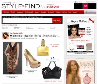 StyleFind was an effort to create a new e-commerce brand.