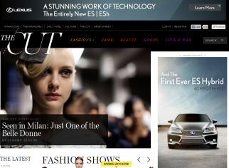 New York has expanded The Cut from a blog to a standalone website.