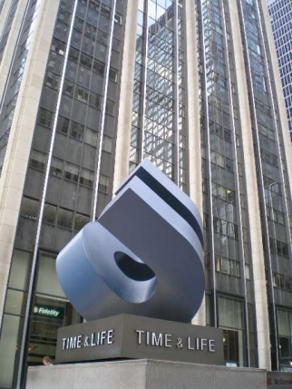 Time Inc.'s headquarters in New York.