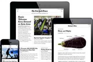 Native ads will appear in The New York Times' new mobile app, but tiny banners won't.