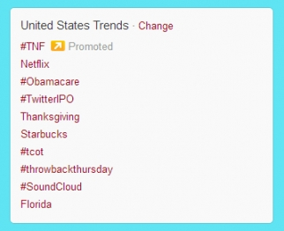 Trending topics this morning