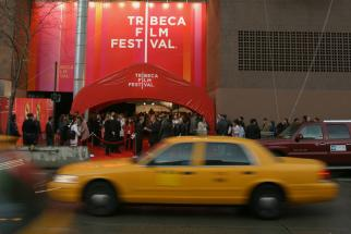 The Tribeca Film Festival red carpet