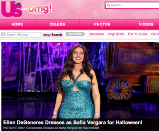 Wenner Media's Us Weekly is posting content to Yahoo's omg!