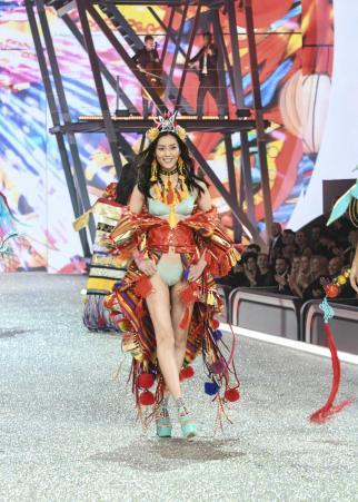 The Victoria's Secret Fashion Show. Pictured: Liu Wen