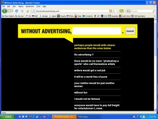 Without Advertising