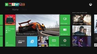 Microsoft's Xbox One dashboard