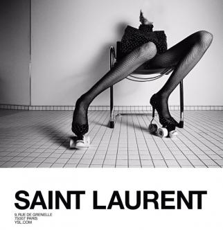 A French advertising watchdog has asked YSL to stop the campaign immediately.
