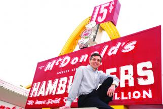McDonald's archivist Mike Bullington