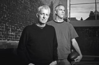 Steve Simpson (left) and Jamie Barrett