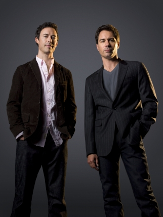 Tom Cavanagh and Eric McCormack