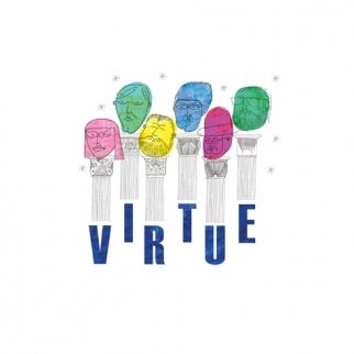 Heads of Virtue: Thalia Mavros, Hosi Simon, Andrew Creighton, Spencer Baim, Eddy Moretti, Shane Smith