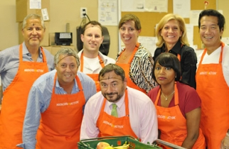 Agencies in Action's Big Wigs in Hairnets event.