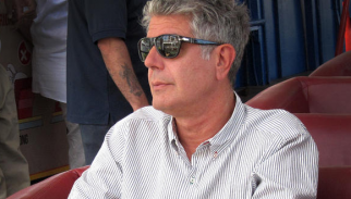 Anthony Bourdain in the final episode of 'No Reservations'