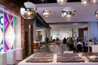 Inside AT&T's new flagship retail store in Chicago.