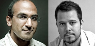 TBWA's new digital artists: Bajwa (left) and Witt