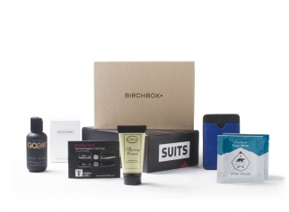 Birchbox is sending subscribers a selection of products to promote USA Network's 'Suits'
