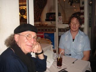 R/GA's He-Men: Bob Greenberg and Nick Law, at Vesuvio