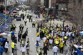 First responders at the Boston Marathon