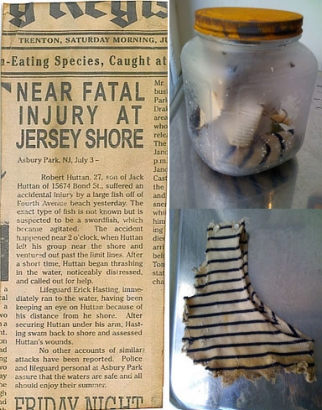 Contents from the Asbury Park incident capsule