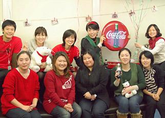 A Coke blogger party in Korea.
