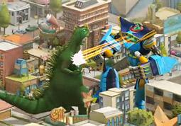 Godzilla Battles Goodby, Comcast