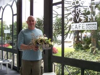 John Condon at the Corbis Creativity Cafe