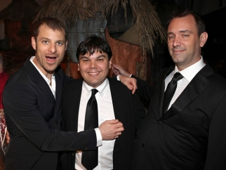 Robert Lopez, Trey Parker and Matt Stone