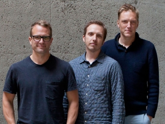 From left: B-Reel's Pelle Nilsson, Petter Westlund and Anders Wahlquist