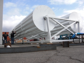 Turbines for the Ricoh Eco-Billboard.