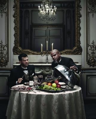 Fancy ECD/Partners Mauro Alencar (left) and Geoff Edwards