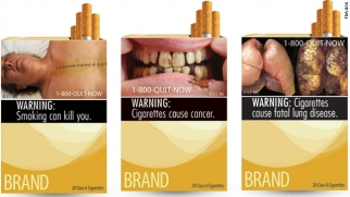 Some of the FDA's proposed cigarette packaging