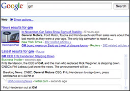 Google Goes After Social-Network Search With Facebook, MySpace