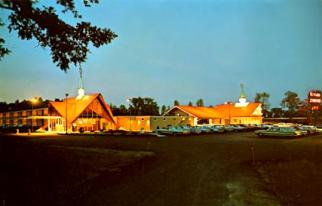 The Plattsburgh, N.Y., Howard Johnson's