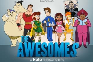 Seth Myers' 'The Awesomes,' part of Hulu's effort to attract subscribers with original shows.