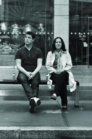 James Clunie and Kara Goodrich