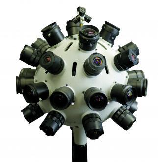 Jaunt's virtual reality camera
