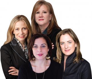 The Judges: (from l.) Renee Wilson, Jamie Robinson, Susan Bonds, Susan Credle