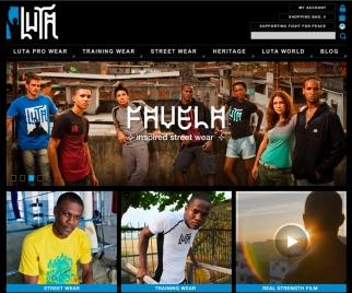 A look at Luta's U.K. site