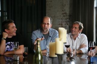 Matt Wood, Chris Franklin and Stephane Dumonceau