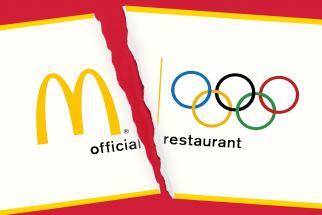 McDonald's Exits Longtime Olympics Partnership